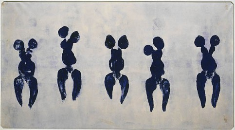Anthropométrie de Yves Klein